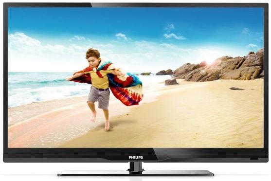 50 TV Philips 50PFL3807K/02, mit DVB T/C/S2, WiFi und DLNA für 599€