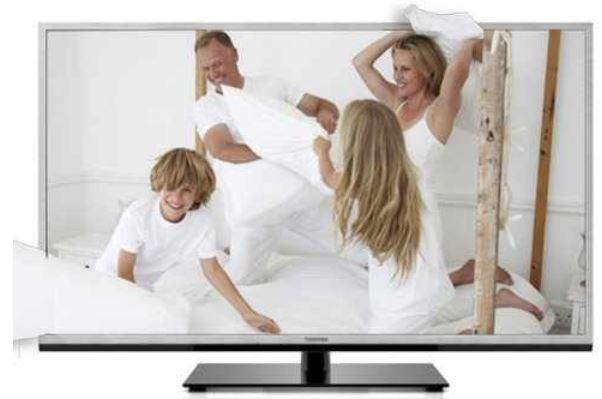 46er Toshiba 46TL938G, 3D TV (DVB T/C, DLNA, Web TV) für 499€