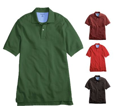 LANDS END Herren Polo Shirt für 12,95€