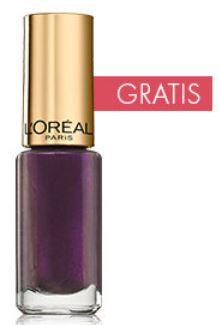 LOréal Paris Make Up Produkten im Wert von mindestens 10€ kaufen und LOréal Paris Nagellack (Wert 10€) kostenlos abstauben!