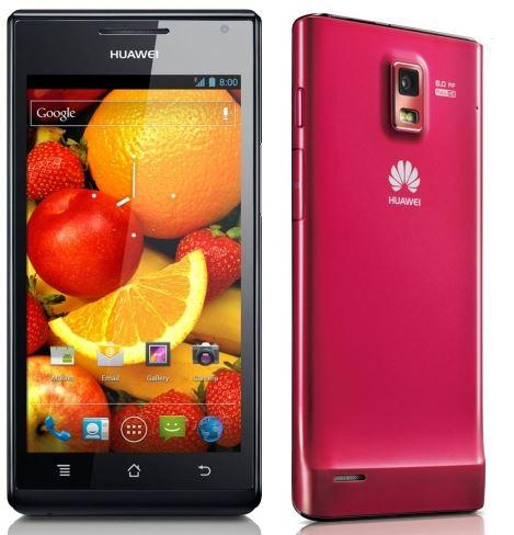 Android 4G Smartphone, Huawei Ascend P1, mit 8MP Kamera für 199€