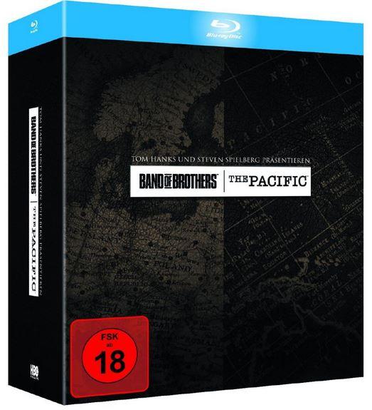 Band Of Brothers   Wir waren wie Brüder & The Pacific Blu ray Superbox für 28,80€