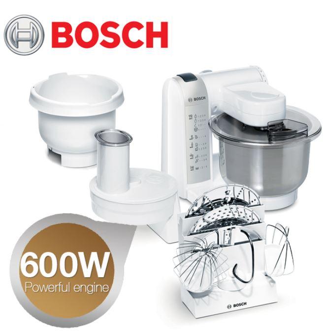 Bosch MUM 4835, Küchenmaschine, 600 Watt für 129€