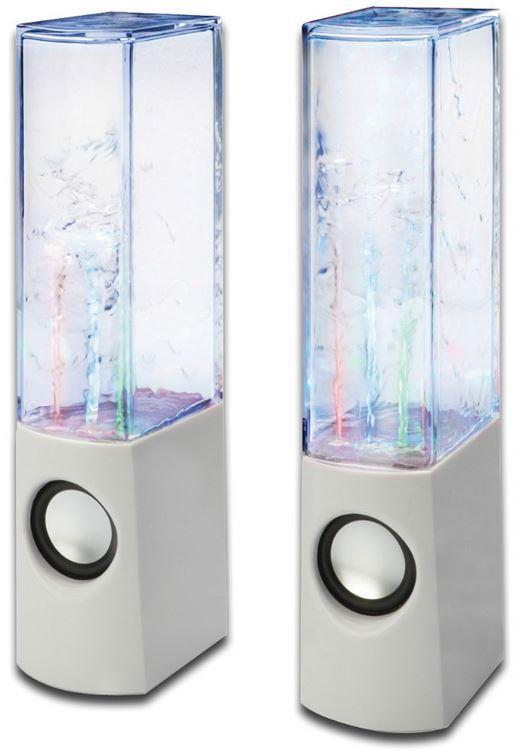 Wieder da! 2 Ednet Water Beats USB Lautsprecher, mit Wasser und Lichteffekten, für 19,90€