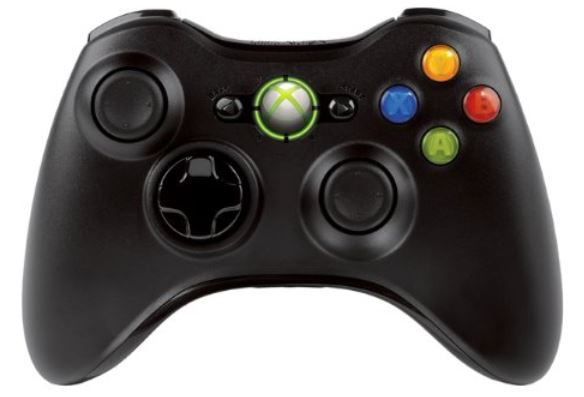 Xbox 360 Wireless Controller in Chrome Schwarz für 25,39€