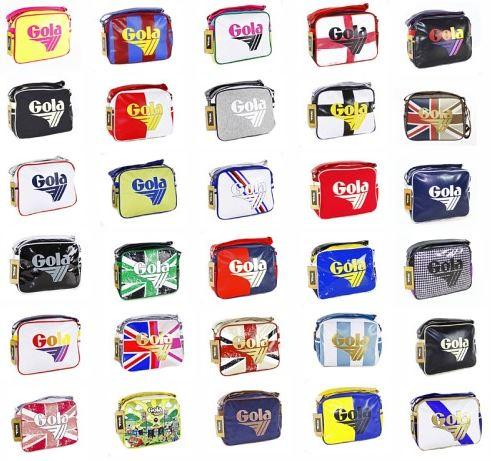 Gola Messenger Bag, 30 verschiedene Modelle, je für 24,99€