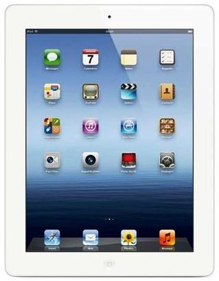 Apple iPad 4 Retina Display 16GB Wifi weiß für 429€