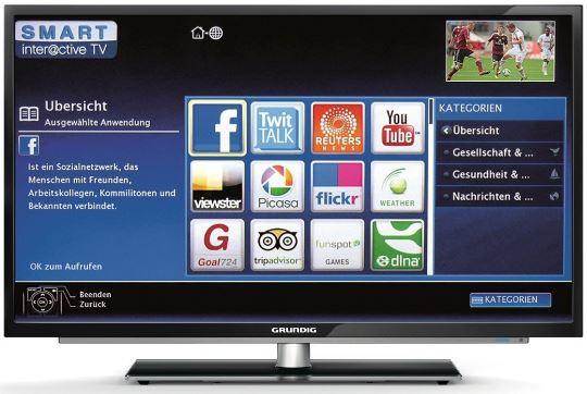 Grundig 50 VLE 920 BL, 50er SmartTV mit DVB T/C/S, für 499€   Update!