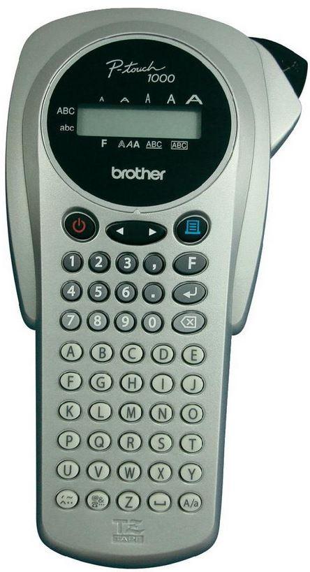 Brother P touch 1000S Beschriftungsgerät für 6   12 mm breite TZ Bänder nur 14,99€