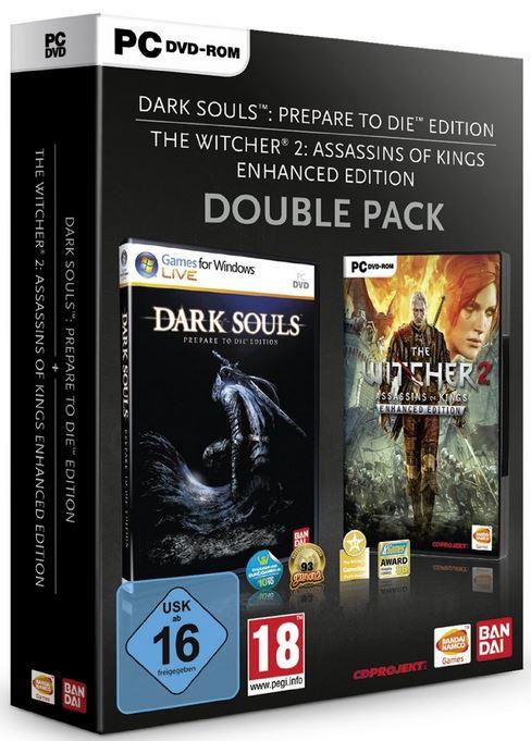 PC Games Doppelpack mit DARK SOULS & THE WITCHER2 für 26,97€