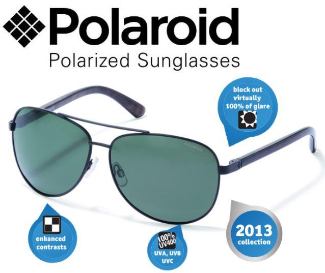 Wieder da! Polaroid Classic Mens Core, Sonnenbrille für 30,90€