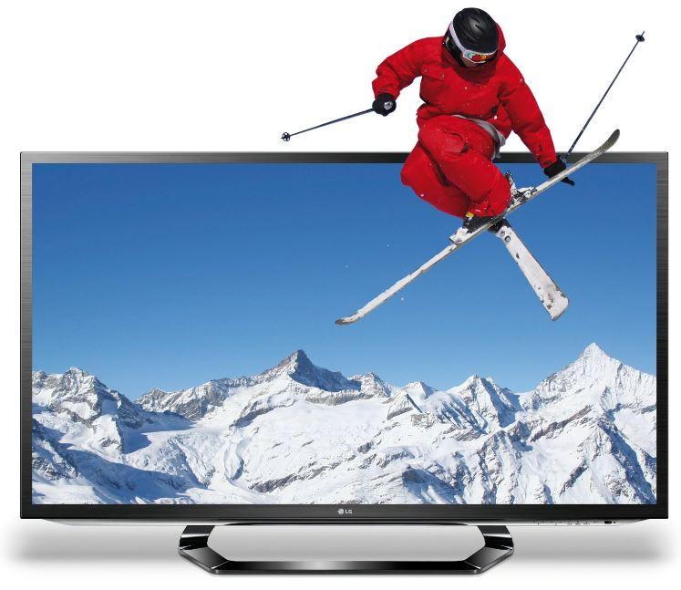 3D 37 Smart TV, LG 37LM620S, mit triple Tuner für 449€