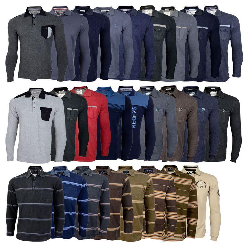 AR MA Herren Longsleeve in verschiedenen Modellen und Farben für je 15,90€