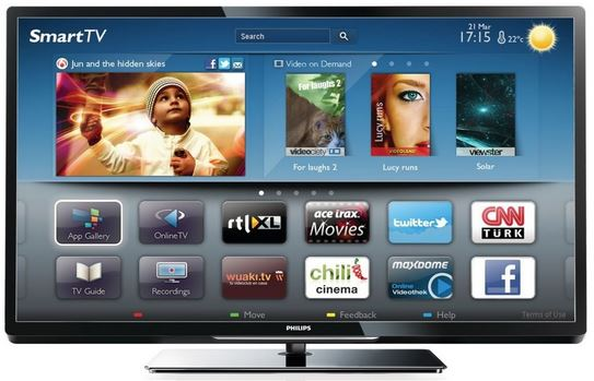 42 Smart TV, Philips 42PFL4007K/12, mit triple Tuner für 429€