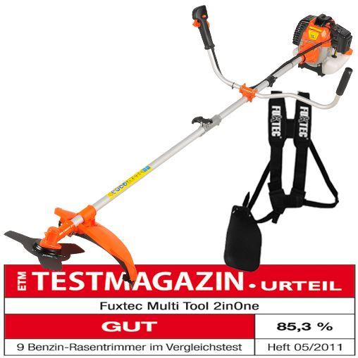 Fuxtec MultiTool 2inONE, Benzin Motorsense und Rasentrimmer mit 3PS für 99€