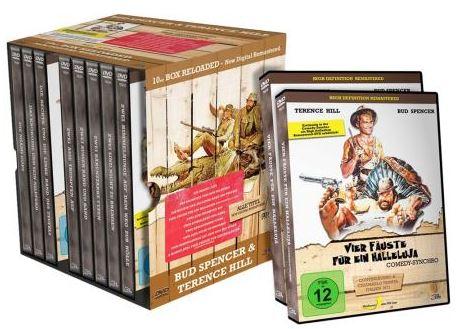 Wieder da! Bud Spencer & Terence Hill RELOADED, DVD Box für 29,99€