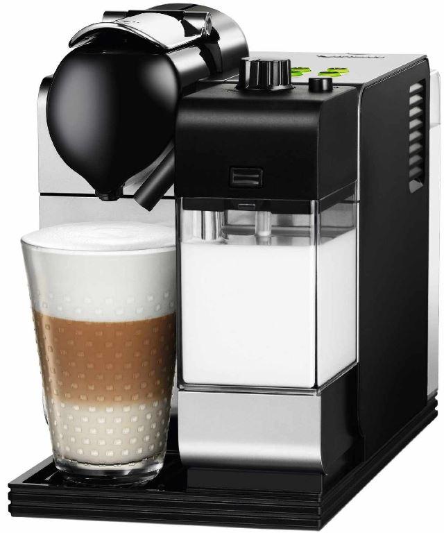 Nespresso Maschine, DeLonghi EN 520.S Lattissima + 100€ Kapsel Gutschein nur 169€