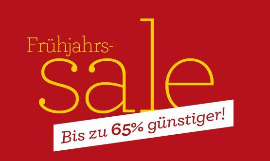 Update! Frühjahrs SALE mit bis zu 65% Rabatt + Gutscheincode 25% auf alles.