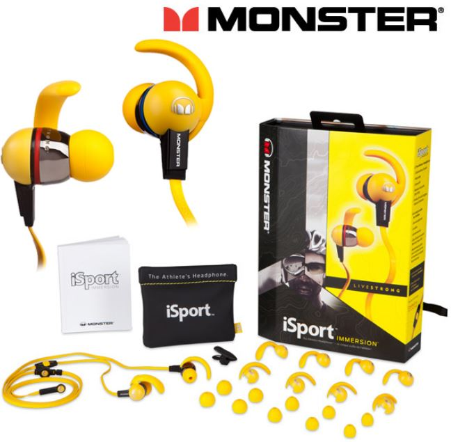 Monster iSport LIVESTRONG Pink   In Ear Kopfhörer 39,95€   Update