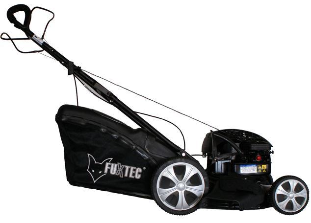 FUXTEC selbstfahrender Benzin Motorrasenmäher rmit Briggs & Stratton Motor, für 229€