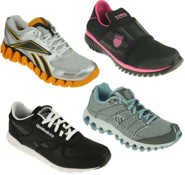 K Swiss und Reebok Damen und Herren Freizeit Schuhe für 29,95€