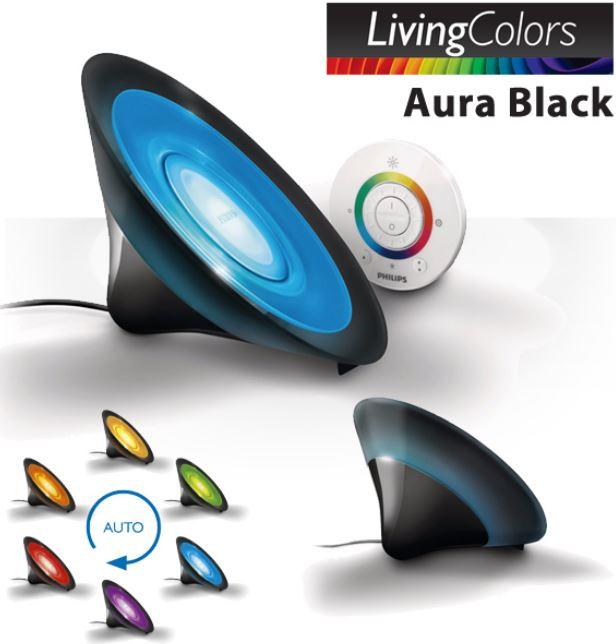 Philips LivingColors Aura Schwarz für 41,42€