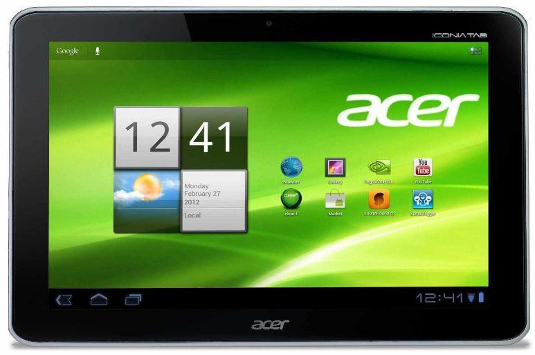 Acer Iconia A211, Tablet PC mit 10,1 Zoll für nur 248,72€