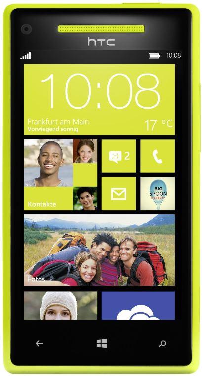 Neue Amazon Warehouse Deals, z. B. Smartphone HTC Windows Phone 8X für 275,78€
