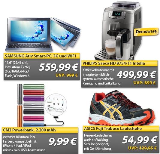 Wochenend Ohas   Philips Saeco Vollautomat für 499,99€ (statt 760€!) ...uvm.