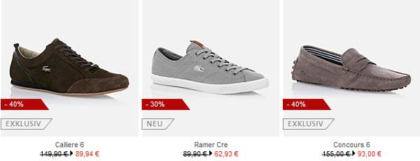 Lacoste Sale mit bis zu 50 % Rabatt + versandfrei + Geschenk