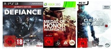 Ein paar nette USK 18 Games versandkostenfrei bestellen