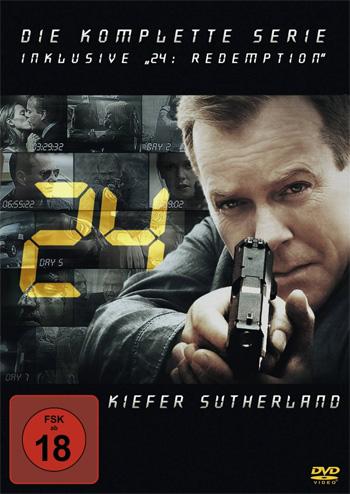 24   Die komplette Serie inklusive Redemption (DVD) für 49,97€