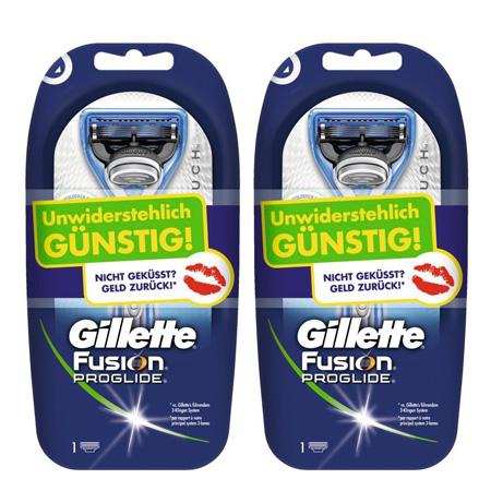 Gillette Fusion ProGlide Silvertouch Aktionen bei Amazon   Doppelpack für 9,98€