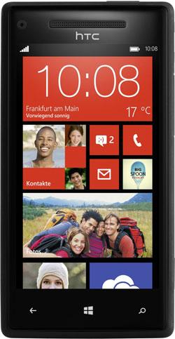 HTC Windows Phone 8X für 298,48€   Dualcore Smartphone mit 8MP Kamera