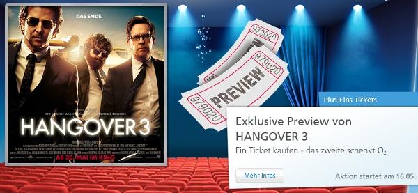 Update! o2 Kinotag: Hangover 3 mit der 2 für 1 Karte