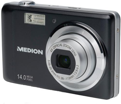 Medion Life X43014 für 36,39€   günstigste 14MP Digitalkamera mit Touchscreen