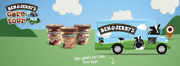 Ben & Jerry's Core Tour 2013 – kostenloses Eis