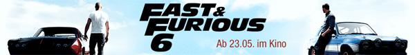 2 Blu rays kaufen und gratis Kinoticket für Fast & Furious 6 abstauben