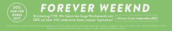20% Frontlineshop Gutschein auf ausgewählte Marken!