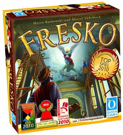 Brettspiel Fresko ab 19€   Spiel für die ganze Familie
