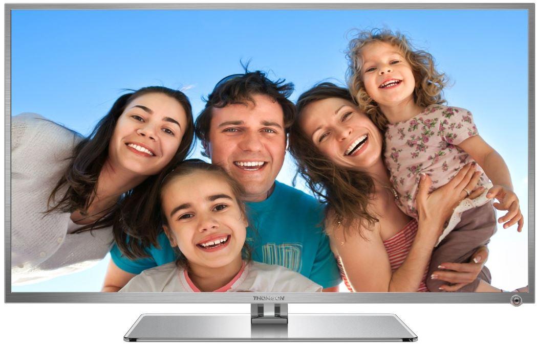 42 Smart TV, Thomson 42FU5555S, mit DVB C/S2/T und WiFi, für 399€