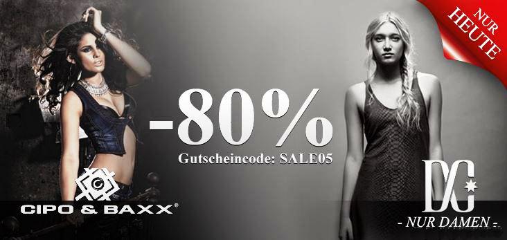 80% Rabatt auf Damen Fashion von Hood Babes und nur heute Cipo & Baxx und DC