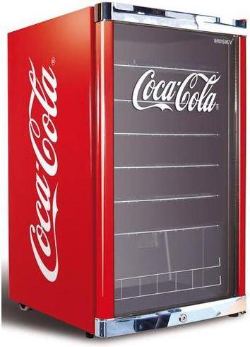Husky Highcube, 115 Liter Getränkekühlschrank, mit Logos von Becks, Coca Cola oder Afri Cola für je 279€