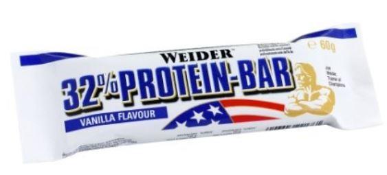 *Preisfehler?* Weider 32% Protein Bar, 1 Kiste   24 x 60g nur 7,51€ statt 63€