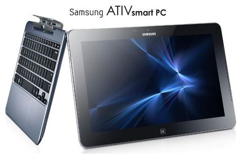 Convertible Samsung ATIV smart PC, Tablet Notebook mit Windows 8 für nur 599€