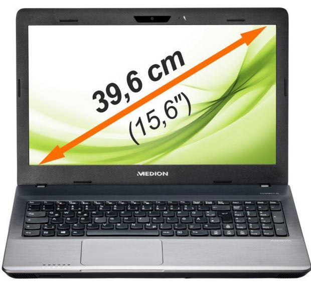 MEDION E6232 MD 99070   15,6 Notebook mit i3 2,4GHz, 4GB RAM, 1TB HDD, für 319€