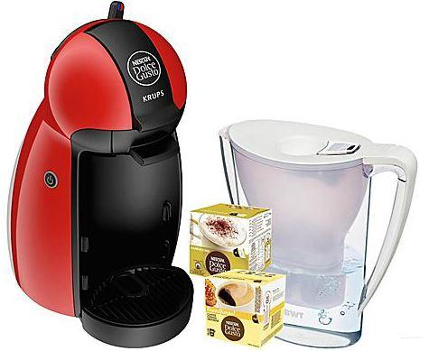 Update! Krups KP 1006 Nescafé Dolce Gusto Piccolo mit Wasserfilter und Pads nur 39€