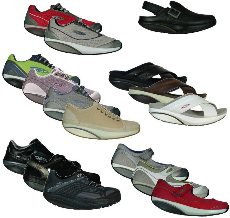 MBT Schuhe & Sandalen für Damen und Herren für je Paar 57,99€