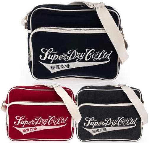 Superdry Vintage Messenger Bag für 39,95€