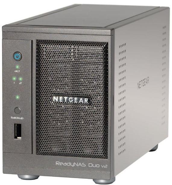Systemfehler? Netgear ReadyNAS DUO v2 RND2000 200, für 89,90€